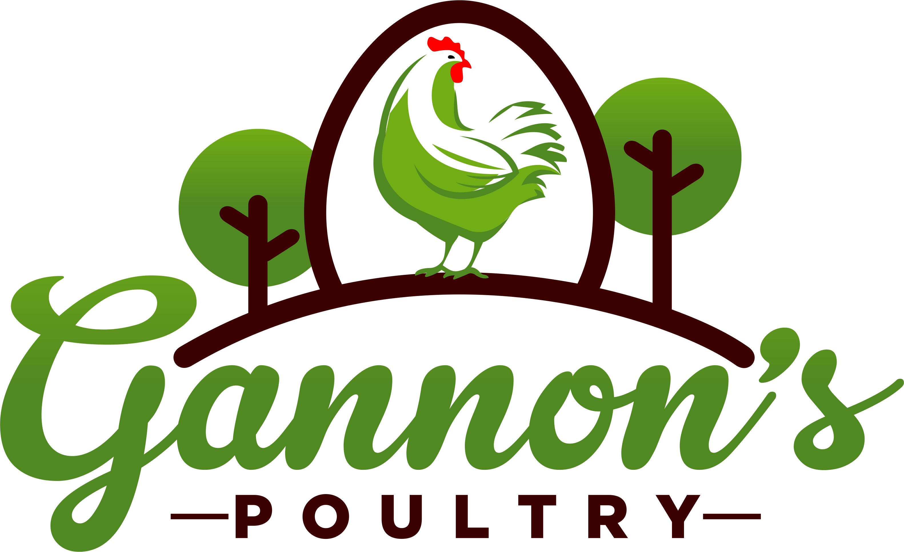 Gannons Poultry Logo